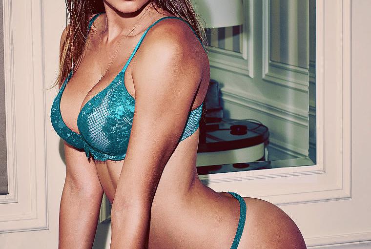 babe in blue underwear