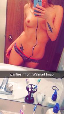 panties snapchat selfie